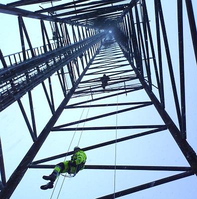 Arbeta i mast